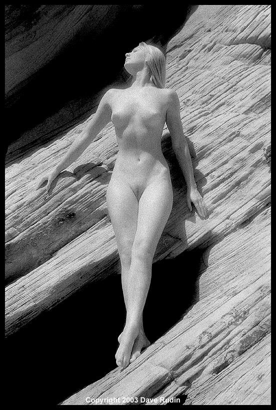 Nude, Nevada, 2003 Artistic Nude Photo by Photographer Dave Rudin
