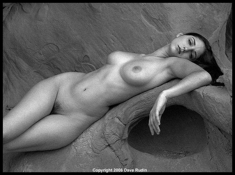 Nude, Nevada, 2006 Artistic Nude Photo by Photographer Dave Rudin