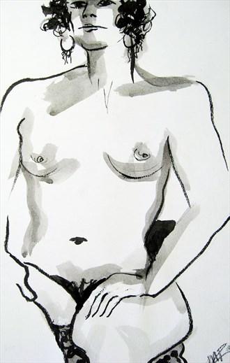 Nude 10 Artistic Nude Artwork by Artist Rael
