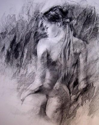 Nude 2 Artistic Nude Artwork by Artist Lee