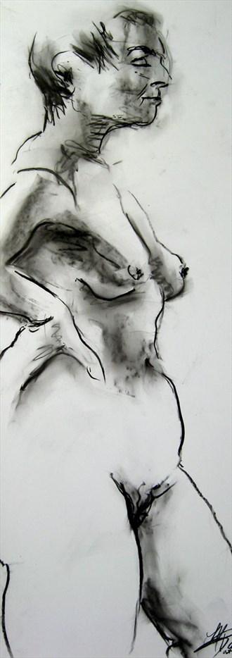 Nude 3 Artistic Nude Artwork by Artist Rael