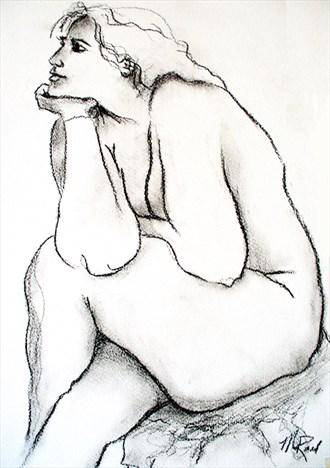 Nude 4 Artistic Nude Artwork by Artist Rael