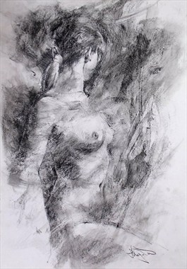 Nude 5 Artistic Nude Artwork by Artist Lee