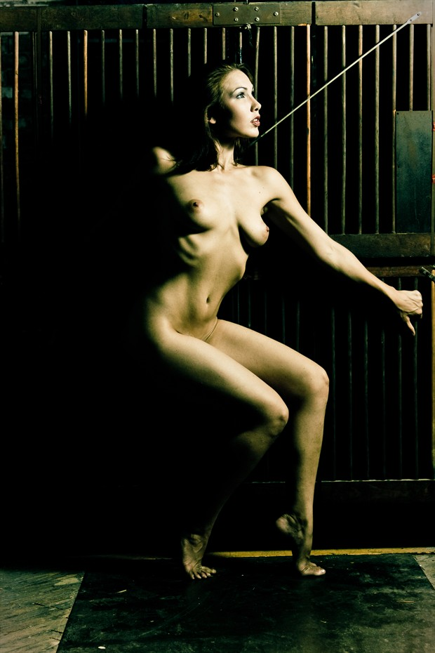 Nude By The Front Gate Artistic Nude Photo by Photographer 3 Graces Photography