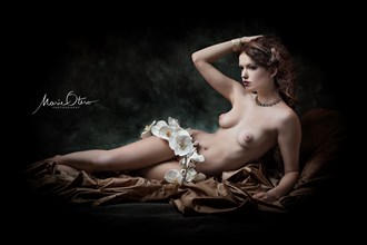 Nude Reclined Artistic Nude Photo by Photographer Marie Otero