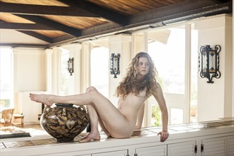 Nude Upon the Counter Artistic Nude Photo by Photographer CalidaVision