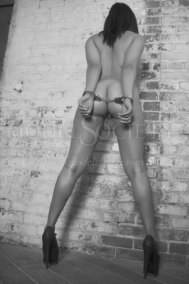 Nude and Restrained Surreal Photo by Photographer CSDewitt Buck