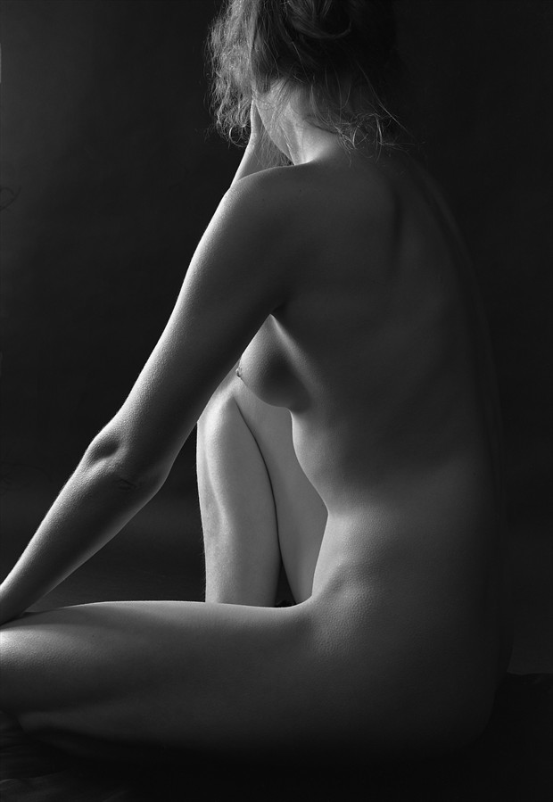 Nude and Triangles Artistic Nude Photo by Photographer Peter Le Grand