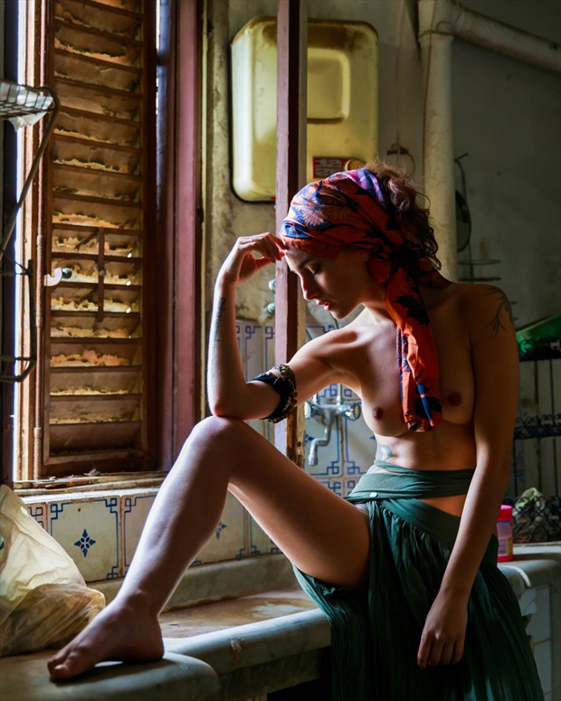 Nude in Abandoned Kitchen Artistic Nude Photo by Photographer Aspiring Imagery