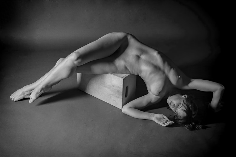 Nude off of The Pedestal Artistic Nude Photo by Photographer Philip Turner
