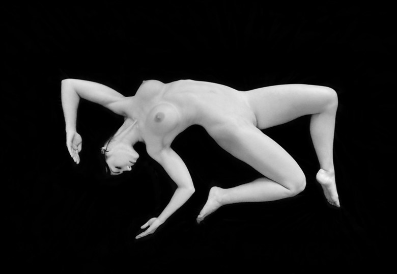 Nude on Black Artistic Nude Photo by Photographer RayRapkerg