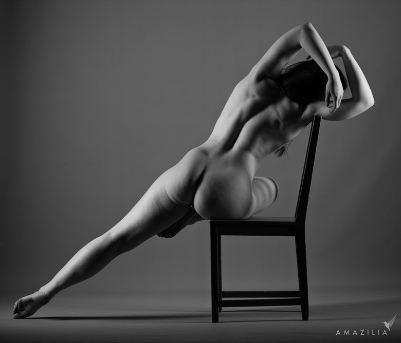 Nude on a Chair   Just! Artistic Nude Photo by Photographer Amazilia Photography