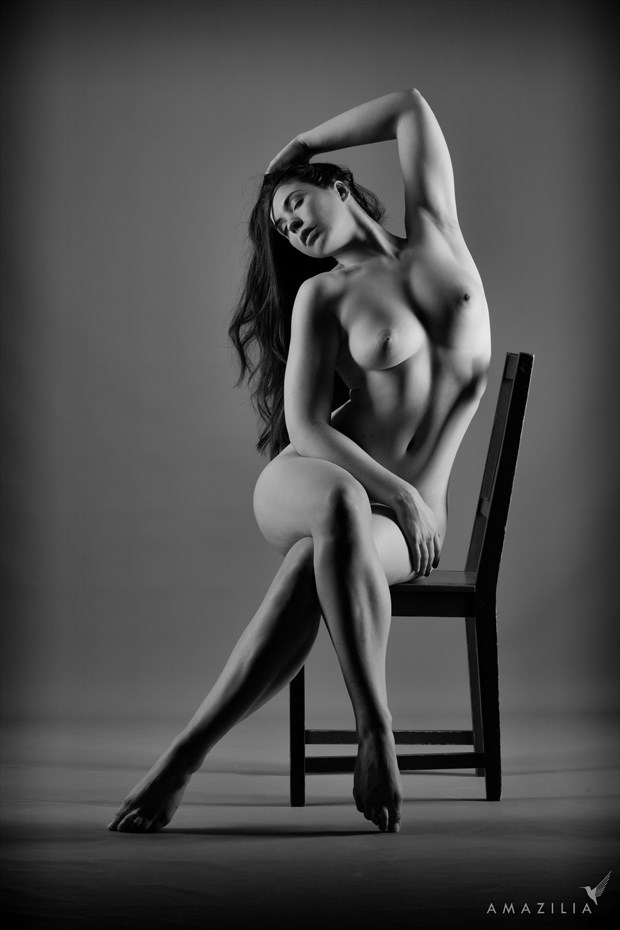 Nude on a Chair Artistic Nude Photo by Photographer Amazilia Photography