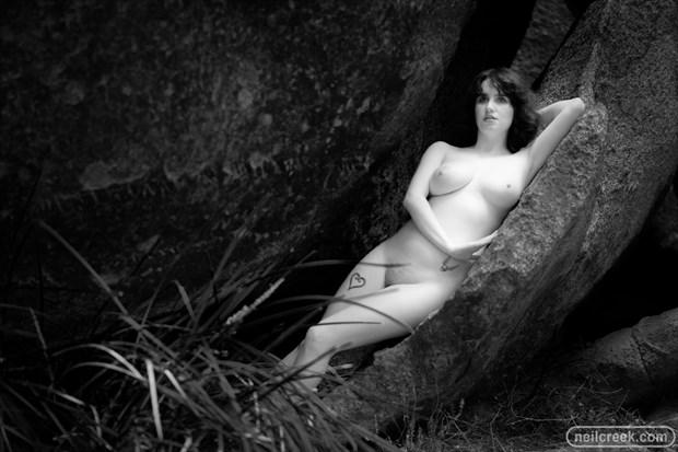 Nude vs Rocks 5 Artistic Nude Photo by Photographer Neil Creek