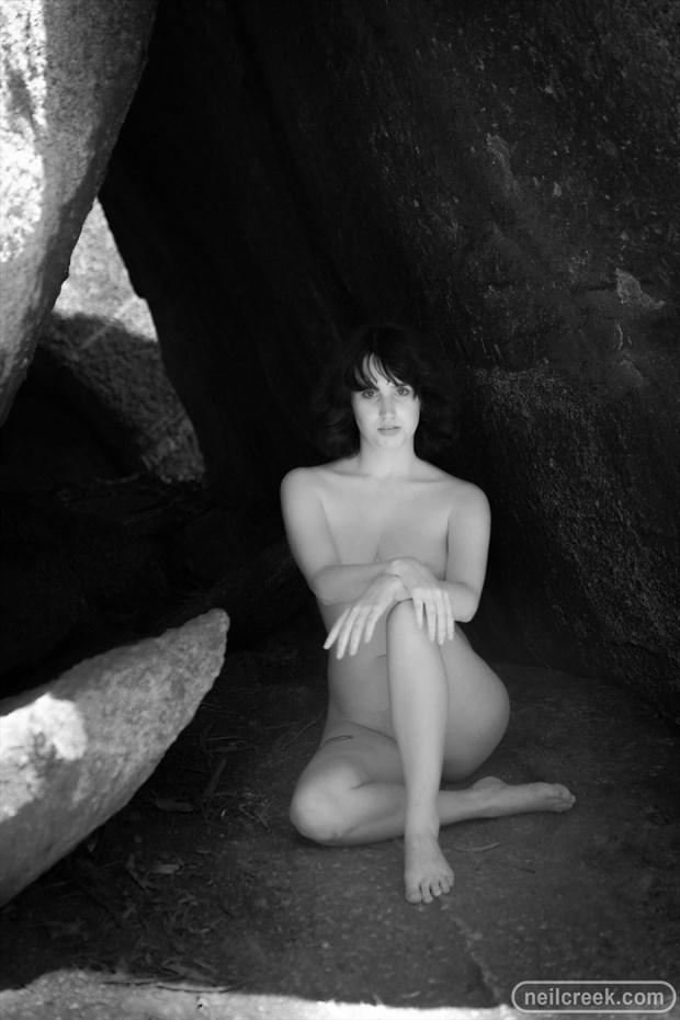 Nude vs Rocks 8 Artistic Nude Photo by Photographer Neil Creek