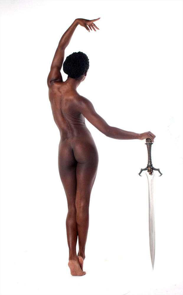 Nude with sword Artistic Nude Photo by Photographer Light is Art