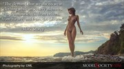 Nudity quote by Mark Storey with nude model photography by DML Artistic Nude Photo by Administrator Model Society Admin