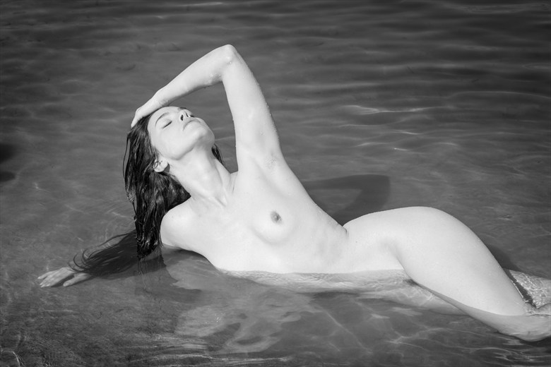 Nymph Artistic Nude Photo by Photographer Inge Johnsson