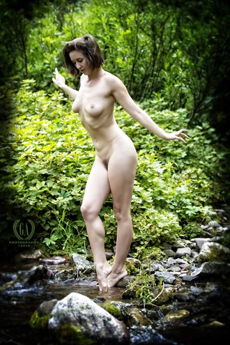 Nymph by the River Artistic Nude Photo by Photographer G A Photography