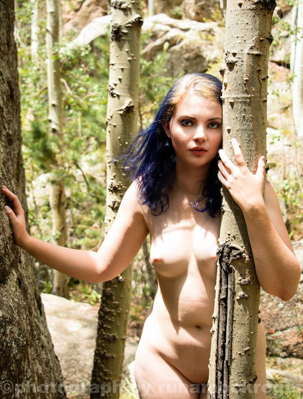 Nymph in Nature Artistic Nude Photo by Model CheekyAngel Modeling