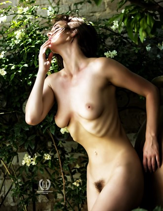 Nymph in Secret Garden Artistic Nude Photo by Photographer G A Photography