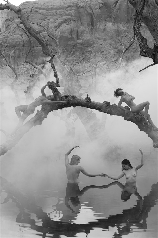 Nymphs of the Lake Artistic Nude Photo by Photographer ClinePhoto