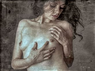 OUT OF DARKNESS ... Artistic Nude Artwork by Artist NITROUS