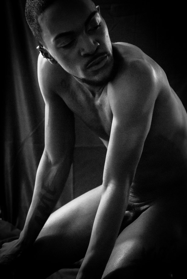 Obsidian Dream Artistic Nude Photo by Photographer Halban Photography