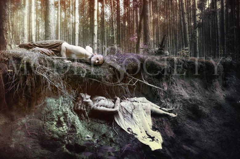 Oddech Wschodu Emotional Artwork by Photographer Katarzyna Wieczorek