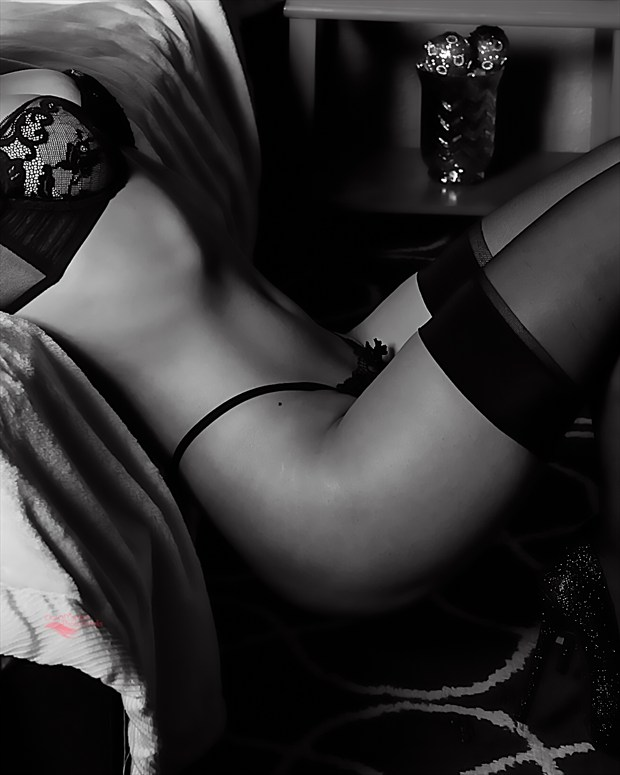 Off the Bed Lingerie Photo by Photographer Miller Box Photo