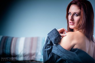 Off the shoulder Glamour Photo by Photographer Marc Bourcier Photography