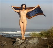 Offshore Breezes Artistic Nude Photo by Artist AnneDeLion