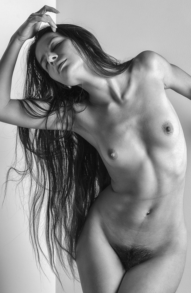 Oh that Hair   mono Artistic Nude Photo by Photographer rick jolson