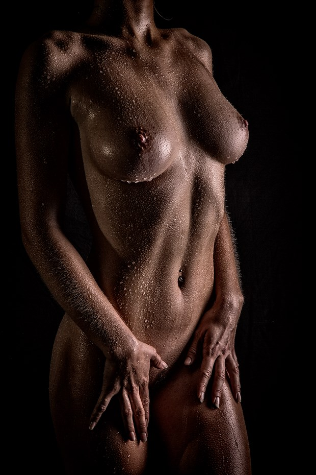 Oil and Water Artistic Nude Photo by Photographer Dan West