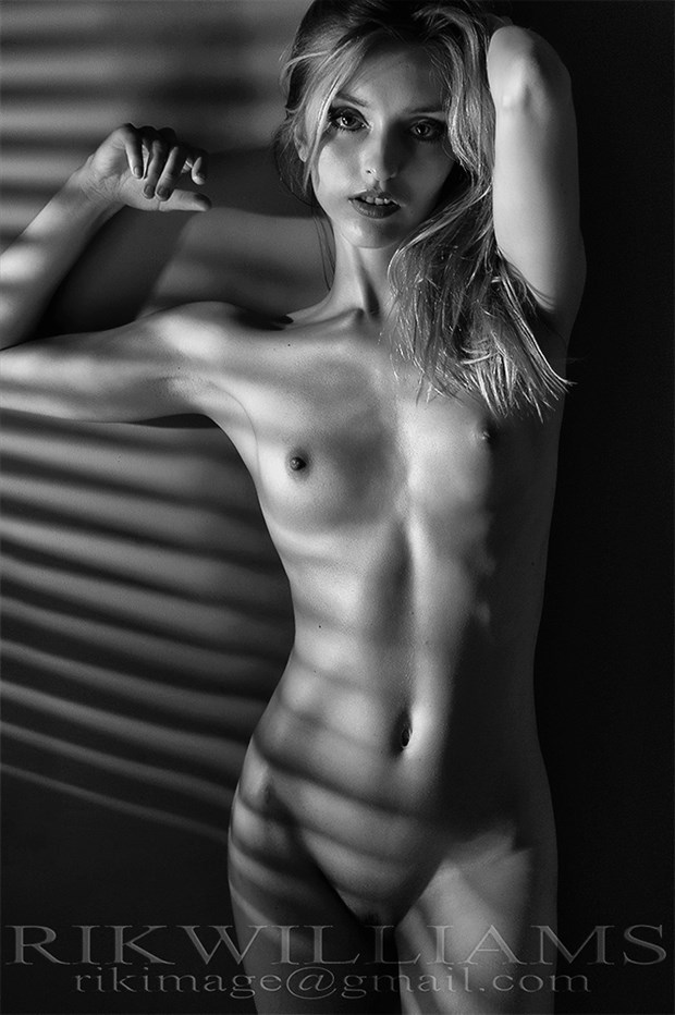 Ola Artistic Nude Photo by Photographer Rik Williams