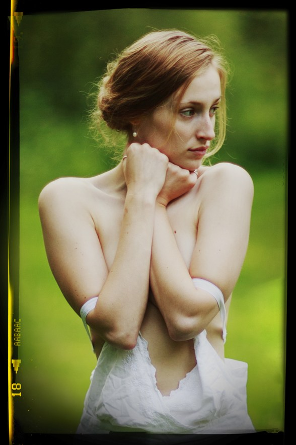 Old Film Artistic Nude Photo by Model Eleanor Kathryn