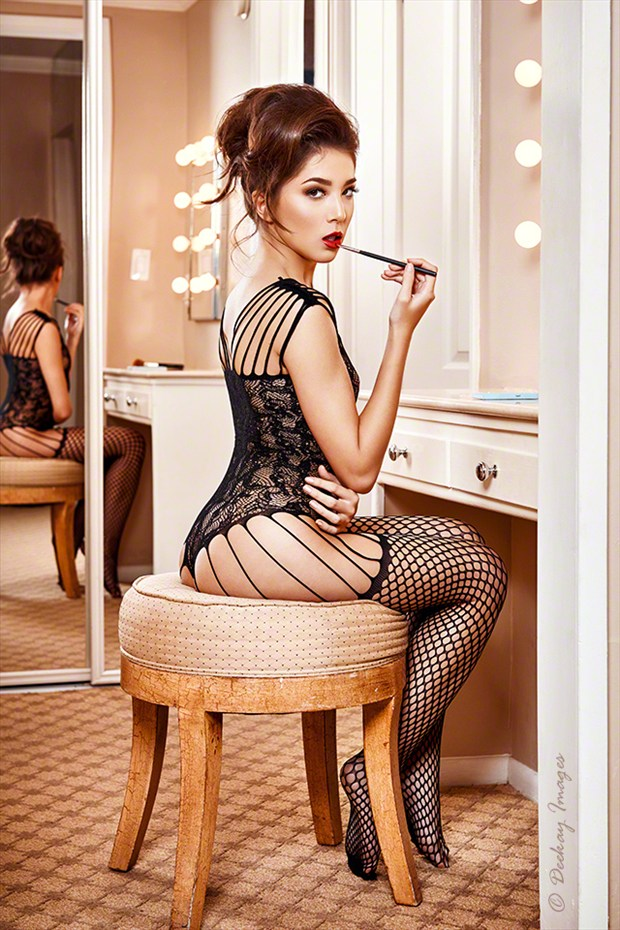 Old Hollywood Glamour Lingerie Photo by Model IDiivil