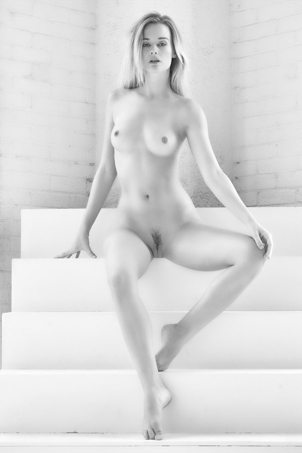 Olivia and the stairway to nowhere Artistic Nude Photo by Photographer StromePhoto