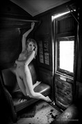 On The Train Artistic Nude Photo by Model Sylph Sia