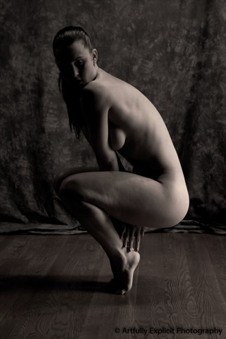 On her toes... Implied Nude Photo by Photographer photographic artist