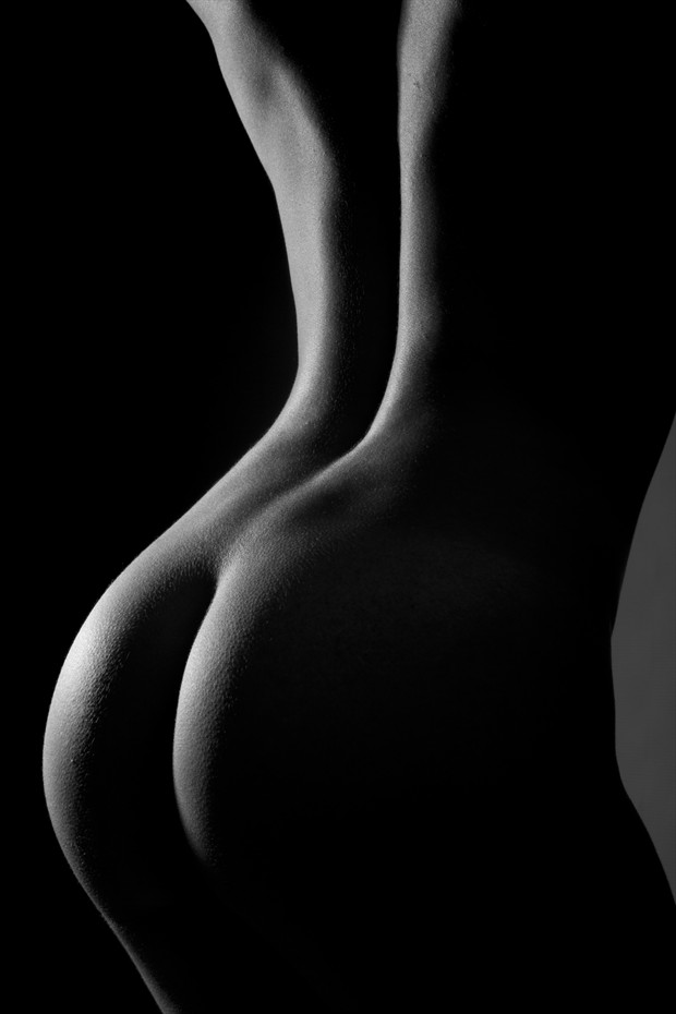 On the back side Artistic Nude Photo by Photographer Darryl J Dennis