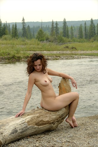 On the log Artistic Nude Photo by Photographer Positively Exposed Photography
