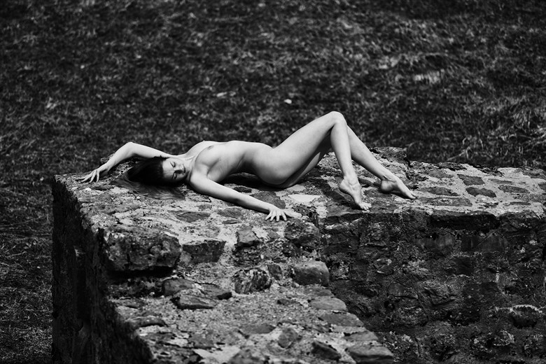 On the wall Artistic Nude Artwork by Photographer Aperture22