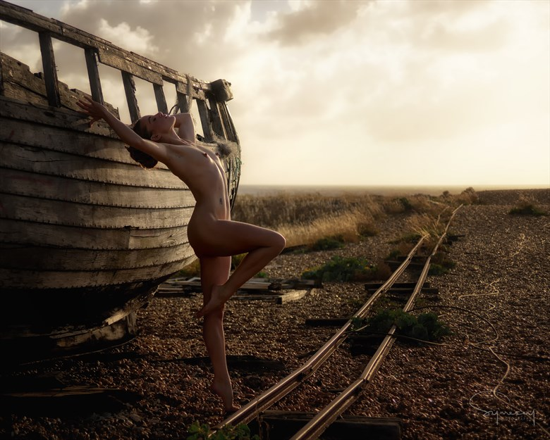 On the wrong side of the track Artistic Nude Photo by Photographer Symesey