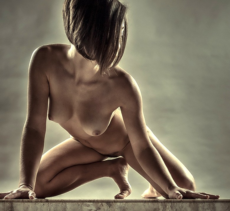 On your Mark... Artistic Nude Photo by Photographer rick jolson