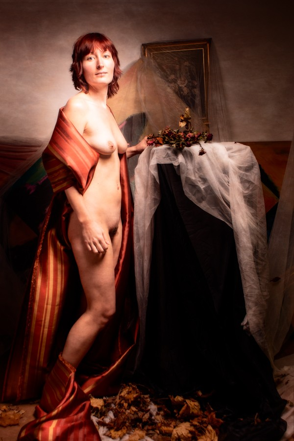 Once The Lady Artistic Nude Photo by Photographer JohnB