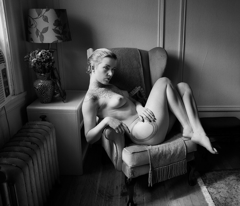 One Lazy Sunday Afternoon Artistic Nude Photo by Photographer Vahid Naziri