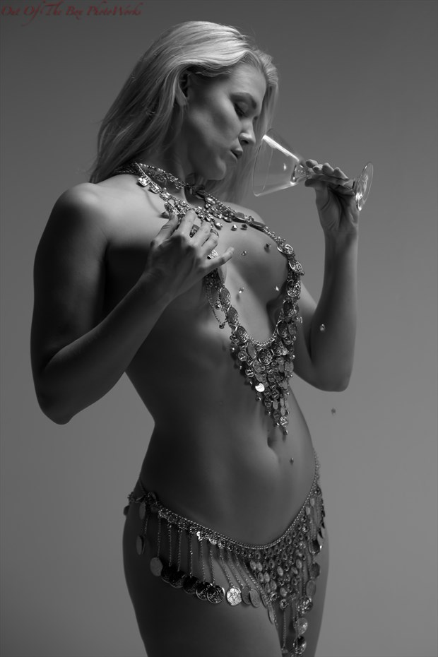 Oops, I Spilled My Diamonds! Sensual Photo by Photographer Miller Box Photo