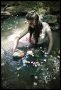 Ophelia's Last Nature Artwork by Model Jill Liebisch