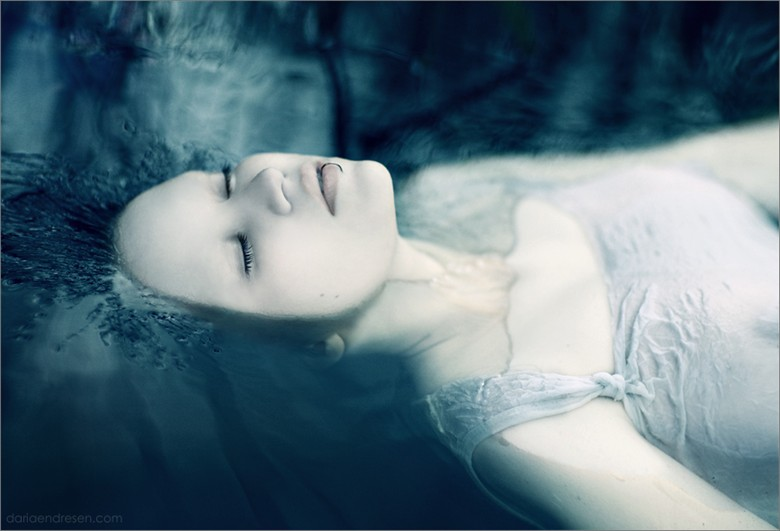 Ophelia Close Up Photo by Artist Daria Endresen